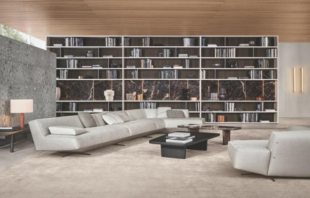 Přehlednost a logické schéma dispozice jsou základními atributy dobře koncipovanépolyfunkční místnosti. Význam výběru nábytku, který je součástí obývací zóny a vymezujetento prostor, nepodceňujte. Investujte do kvalitních materiálů a rady odborníka, který vám ušetří nejen centimetry v prostoru, ale v konečném důsledku většinou i finance.