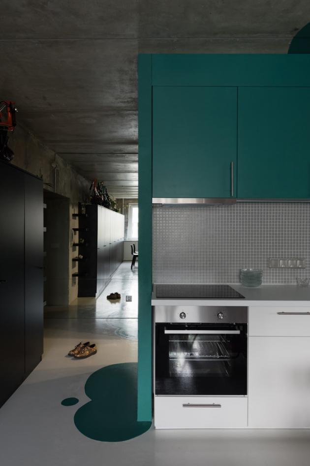 Autory projektu jsou architekti z moskevského studia Le Atelier: Sergey Kolchin, Nadezhda Torshina, Natalya Senyugina.