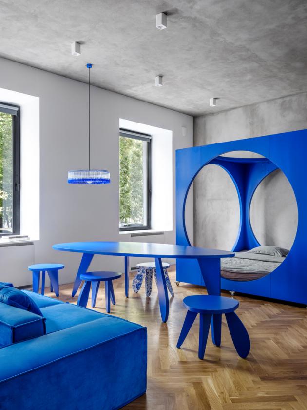 Harry Nuriev, zakladatel architektonického studia Crosby Studios, přivedl k životu svůj dětský sen o bydlení.