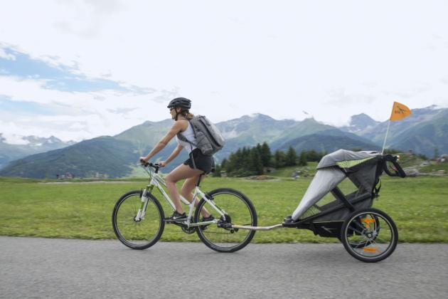Model TFK Velo je první cyklistickou čtyřkolkou na světě, která byla schválena i pro běhání.