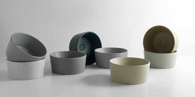Umyvadlo na desku Bagno di Colore (Ceramica Globo), 14 různých barev, cena na dotaz, WWW.CERAMICAGLOBO.COM