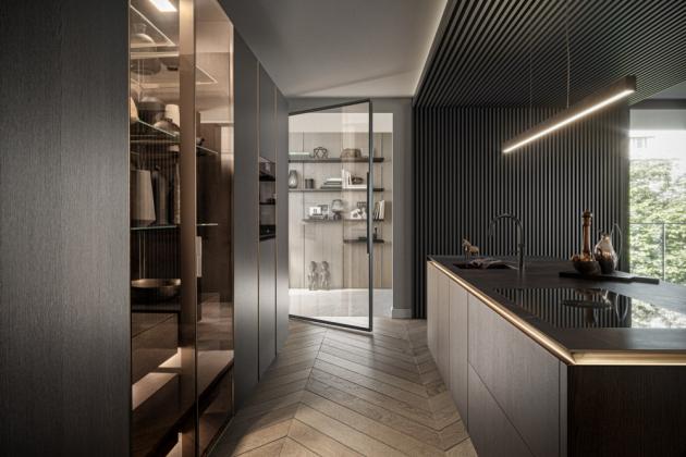 SieMatic SLX Pure vás ihned zaujme čistými liniemi a krásnými proporcemi. Velice chytře je zde zakomponováno osvětlení, které vytváří dojem, jako by se pracovní deska vznášela ve vzduchu. Celá kuchyně spíše působí jako přechod do obývací části bytu, či domu a díky tomu zde rádi budete trávit více času. Stala se okamžitě ikonou vsegmentu kuchyní, ale i jako produkt.