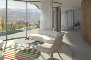 Dynamický dům ukrytý ve francouzských Alpách