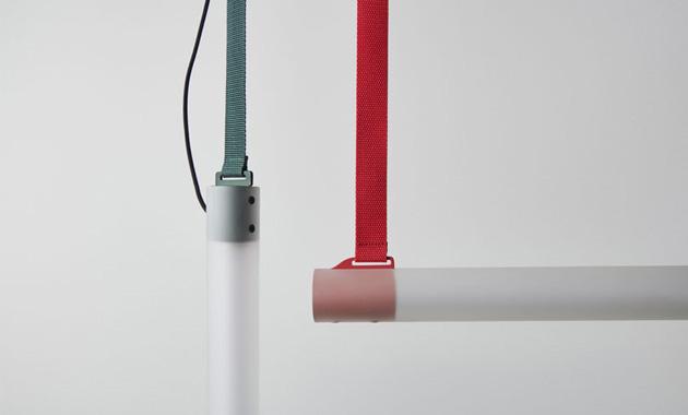 Nezvyklá kombinace materiálů, minimalistické linie avšestrannost charakterizují svítidlo Ida (Oikoi), navržené Erikou Baffico aSebastianem Tonellim.