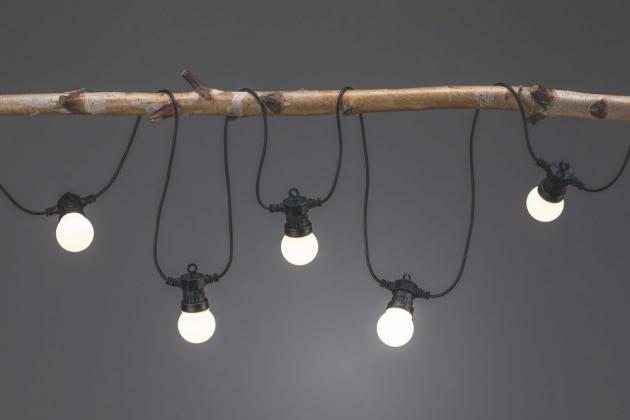 Venkovní osvětlení Plug and Shine – světelný řetěz