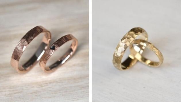 Vedle materiálu šperkaři experimentují i s tvary a povrchy prstenů. Šperkaři mají nekonečné možnosti, jak šperku dodat punc jedinečnosti, ale zároveň zachovat jeho nadčasový design.