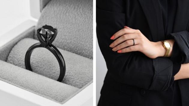 Černé ruthenium šperkům dodává nádech tajemna i elegantní vzhled. Na tomto vzácném a tmavém kovu nádherně vynikne lesk a třpyt diamantů. Šperkaři ho proto s oblibou používají nejen při výrobě náušnic a přívěsků, ale také zásnubních prstenů, které ruthenium promění v osobitý klenot.