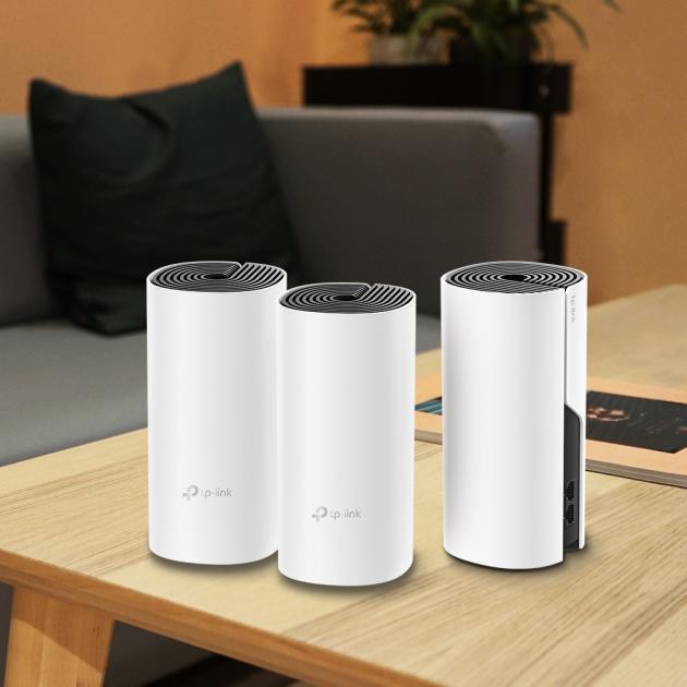 Systémy Mesh, jako je například TP-Link AC1200 Wi-Fi Mesh, se skládají z několika jednotek, které slouží jako vysílače/přijímače signálu