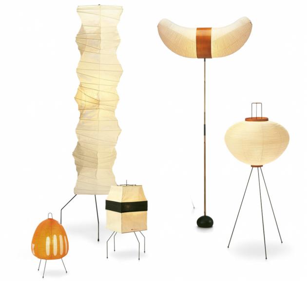 Jméno: Akari, Značka: Vitra, Rok narození: 1951, Design: Isamu Noguchi