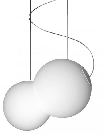 Baubau (Lucis), ručně foukané trojvrstvé sklo, šířka 26 cm, délka 34 cm, cena 6 058 Kč, WWW. LUCIS.EU