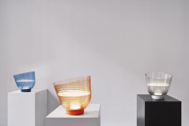 Ulla Mini (Oikoi), design Erika Baffico a Sebastiano Tonelli, kov a sklo, 18,5 × 21 cm, cena na dotaz, www.oikoi.eu