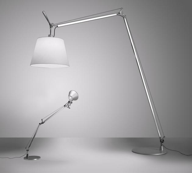 Jméno: Tolomeo Značka: Artemide Rok narození: 1987 Design: Michele de Lucchi a Giancarlo Fassina