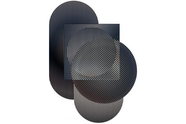 Jemná barevnost, optická iluze a přesné grafické zpracování linií – s takovými principy pracovali designéři experimentálního designérského studia Rive Roshan při výrobě designu koberců Trichroic Hoxton – Duo Shape (Moooi Carpets). Kolekce nabízí několik velikostí a tvarů a je zpracována z vlny, měkké příze a polyamidu. Cena od 72 504 Kč, WWW.BULB.CZ