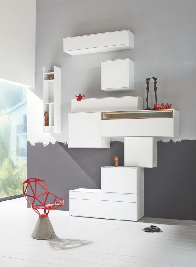 now! by hülsta je nábytek dostupný pro každého. Byť se jedná o sériově vyráběný nábytek, můžete vybírat z mnoha typů a rozměrů úložných prostorů a vyjádřit tak Vaši individualitu. Jak na to, se podívejte na videu níže.