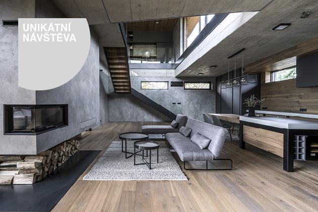 S neomezeným rozpočtem vznikl prosvětlený a pohodlný dům