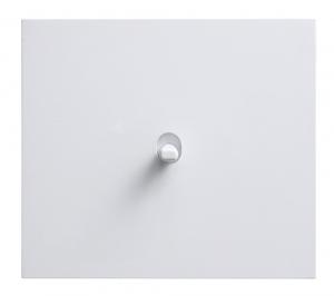 Páčkový vypínač Vectis (Obzor), hliníkový rámeček vbílém provedení, jednopáčka, cena od 1 022Kč,  www.obzor.cz