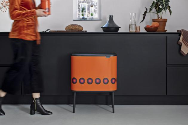 Odpadkový koš BO Touch Bin (Brabantia), 11 + 23 l, kolekce Patrice, cena 4 650 Kč, WWW.BRABANTIA-SHOP.CZ