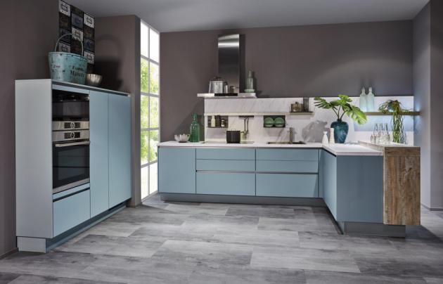 Kuchyň Tamara (Siko), supermatné provedení potažené lakovanou fólií, cena za vzorovou sestavu 31 987 Kč, WWW.SIKO.CZ