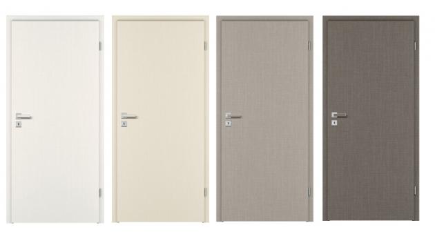 Dveře PRÜM vexkluzivních površích CPL Karo (white, beige, grey a dark) vypadají i díky této hraně velice elegantně a luxusně.