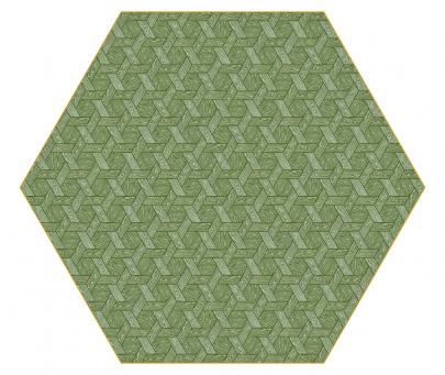 Koberec Hexagon (Moooi), design Studio Job, 100% bavlna, 250 × 290 cm a 350 × 400 cm, cena na dotaz, WWW.BULB.CZ