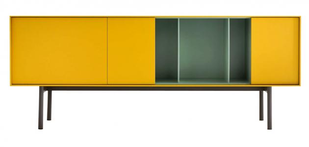 Reverse, design Studio Gherardi, lakovaná MDF a dřevo, 181,7 × 70,9 × 40 cm, cena na dotaz, WWW.CASAMODERNA.CZ