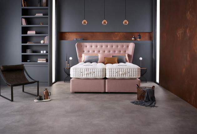 Dvoulůžková postel Opes (Somnus) 100% přírodní materiály, WWW.DREAMBEDS.CZ