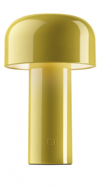 Stolní lampa LED Bellshop (Flos), design Edward Barber a Jay Osgerby, polykarbonát, barva novinka 2020, o 12,5 cm, výška 21 cm, cena 4 740 Kč, WWW.SVETLA24.CZ