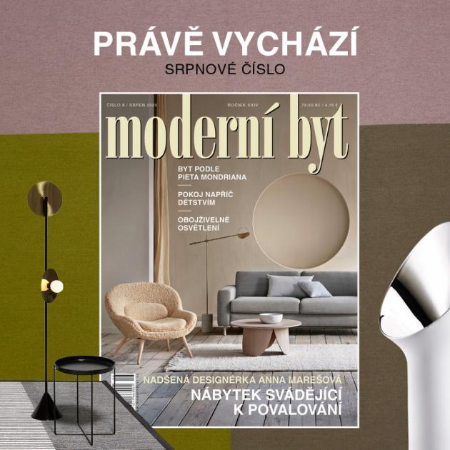 Nové vydání časopisu Moderní byt