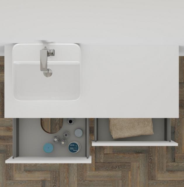 Skříňky MODULE nabízí praktický minimalismus s dostatkem úložného prostoru.(Zdroj: Dřevojas)