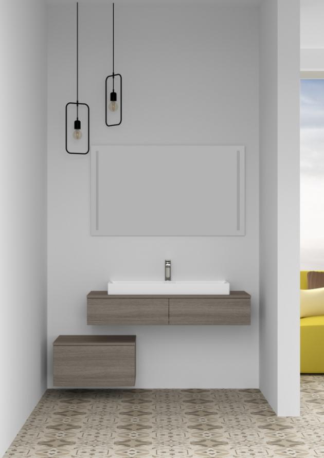 Renesance čistých linií přivede do vaší koupelny hříčku ladných tvarů a sofistikované jednoduchosti.(Zdroj: Dřevojas)