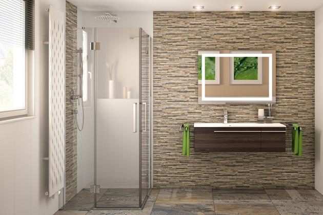 Sprchový kout basano Ballino 90x90 cm