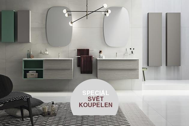 Praktičnost, odolnost a design. Bílá klasika, odstíny šedé, černé a stále oblíbený dřevodekor v novém hávu. To je odpověď na otázku, kudy se ubírají současné trendy v oblasti koupelen.