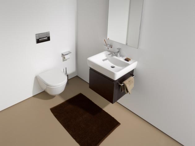 Série Laufen Pro umí pomoci také ve veřejných prostorách nebo při speciálních potřebách uživatelů koupelny.