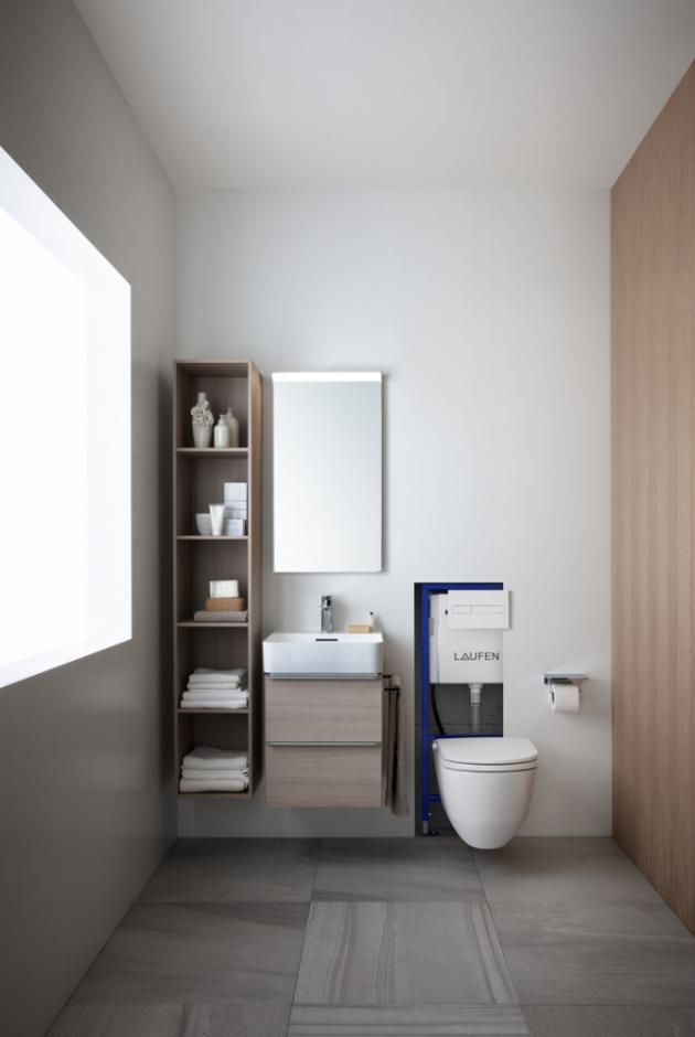 V nabídce instalačních systémů Laufen pak najdete také speciální modul pro instalaci klozetu s integrovanou bidetovou sprškou. Součástí modulu je příslušenství, prostřednictvím kterého toaletu snadno napojíte na přívod vody pro bidetovou spršku.