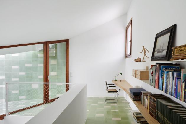 Celý návrh domu respektoval požadavek na maximální energetickou účinnost, tedy nejnižší spotřebu energie.