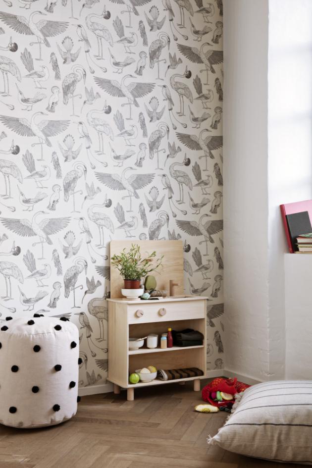 Dětská kuchyň Toro Play Kitchen (Ferm Living), překližka amasivní bukové dřevo, 53,5 × 87 × 27 cm, cena na dotaz, www.designville.cz