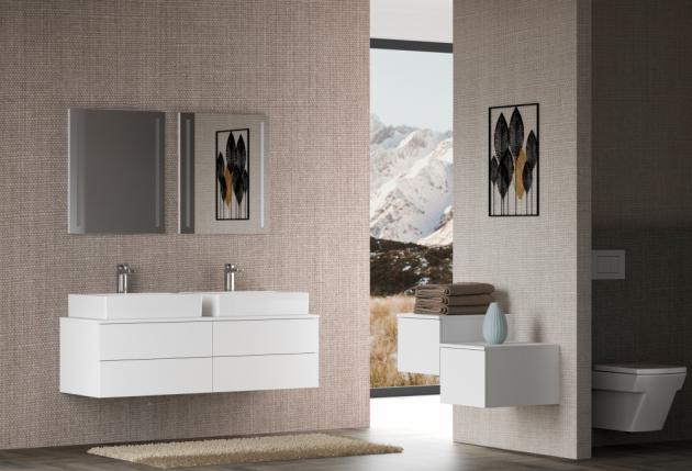 Kvalita je pro koupelnový nábytek Dřevojas na prvním místě, o tom svědčí i důmyslnost zpracování řady MAJESTY