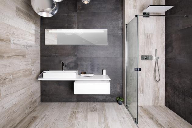 Industriální koupelna v provedení Oristano, cena od 999 Kč/m2