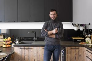V kuchyni zpěváka a skladatele Marka Ztraceného