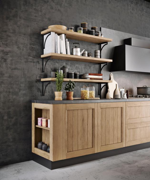 Kuchyně Frida Modern 04 (Arredo3), boční úložný prostor, cena na dotaz, WWW.ARREDO3.CZ