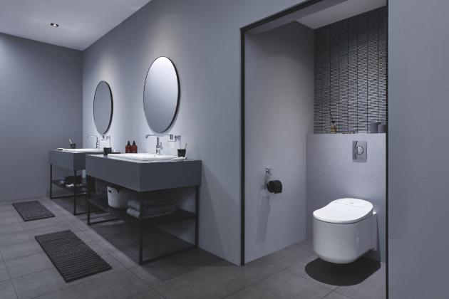 Sprchová toaleta GROHE Sensia Arena představuje prostředek pro osobní hygienu adekvátní 21. století
