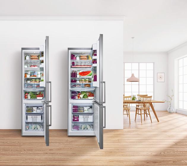 Kombinovaná chladnička KGN49AIDP (Bosch), A+++, šířka 70 cm, systém VitaFresh Plus, 2 chladicí okruhy, cena 33 490 Kč, WWW.BOSCH-HOME.COM/CZ