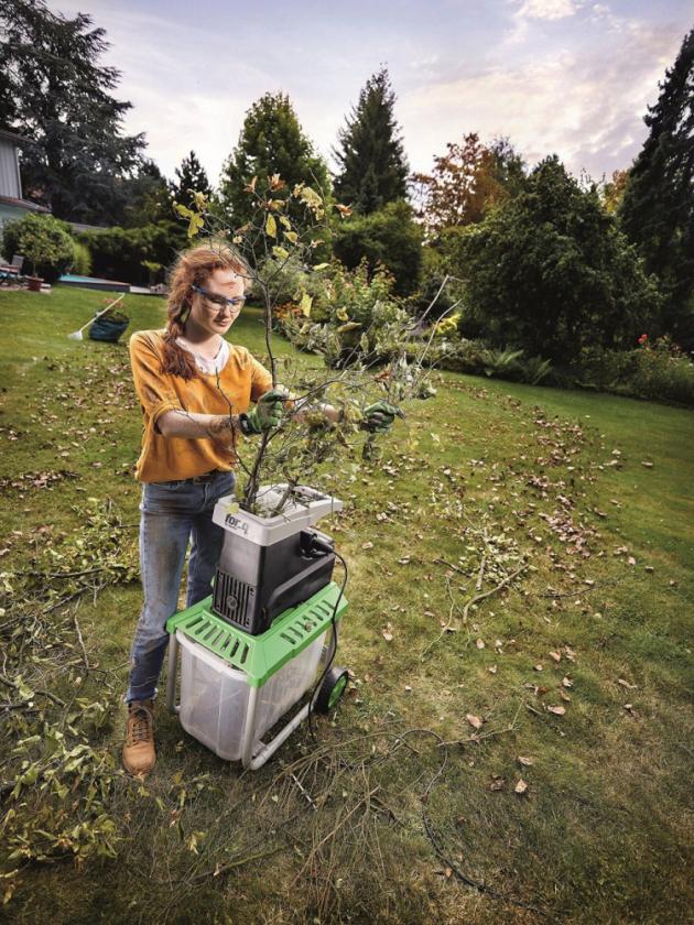 Drtič zahradního odpadu