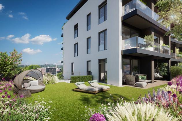 top' rezidence Pomezí nabízí nové byty a rodinné řadové domy z 2. etapy