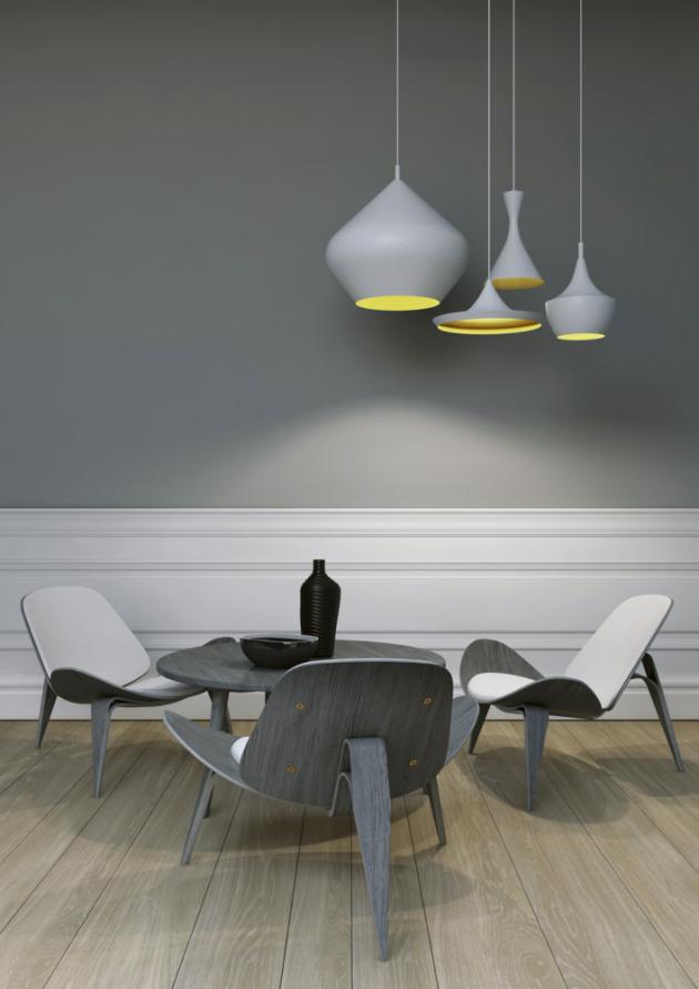 Výmalba barvou Primalex Essence (Primalex), odstín Útulné doupě, matná omyvatelná interiérová barva, vysoké krytí, snadná aplikace, 42 odstínů, cena 395 Kč/3 l, WWW.PRIMALEX.CZ