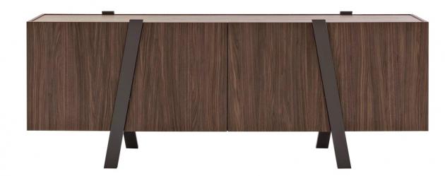Nízká skříňka Note (Bonaldo), design Mario Mazzer, orientační cena od 71 000 Kč, WWW.PUNTODESIGN.CZ