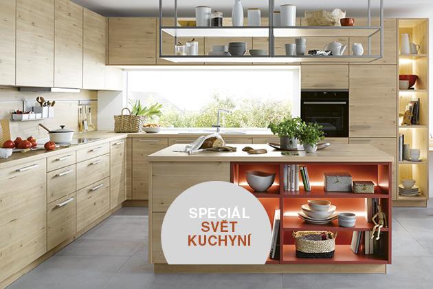 Povrchy kuchyňského nábytku