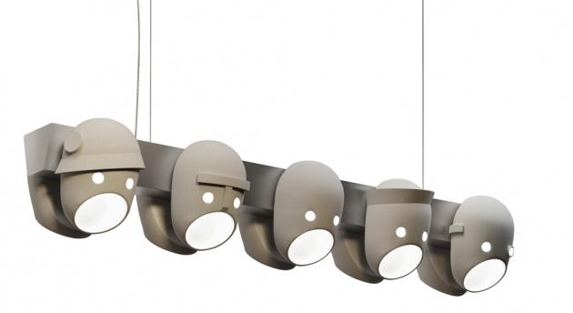 Závěsné svítidlo The Party (Moooi), design Kranen/Gille, keramika a hliník, cena 62 760 Kč, WWW.BULB.CZ