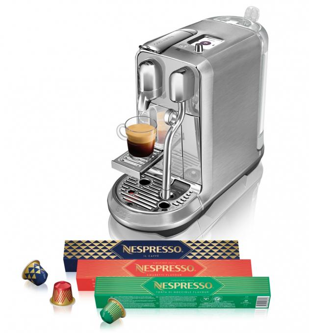 Nespresso uvádí na trh limitovanou vánoční řadu káv Variations Italia.
