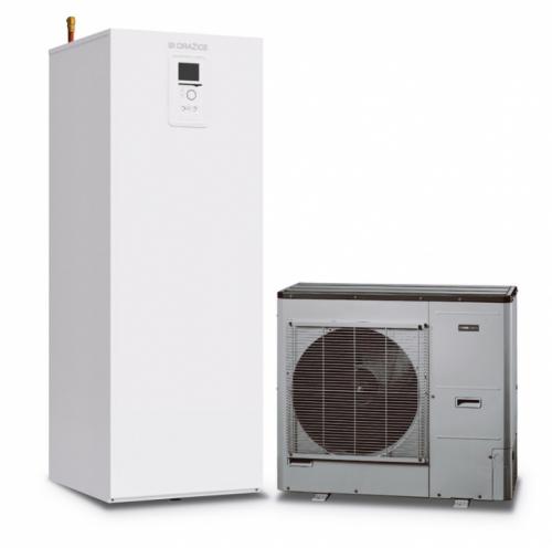 Společně s venkovní jednotkou NIBE SPLIT (AMS 10-8 nebo AMS 10-12) tvoří kompletní systém pro vytápění či chlazení a ohřev vody